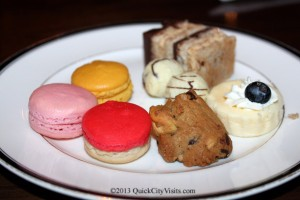 Desserts and awesome macaroons.